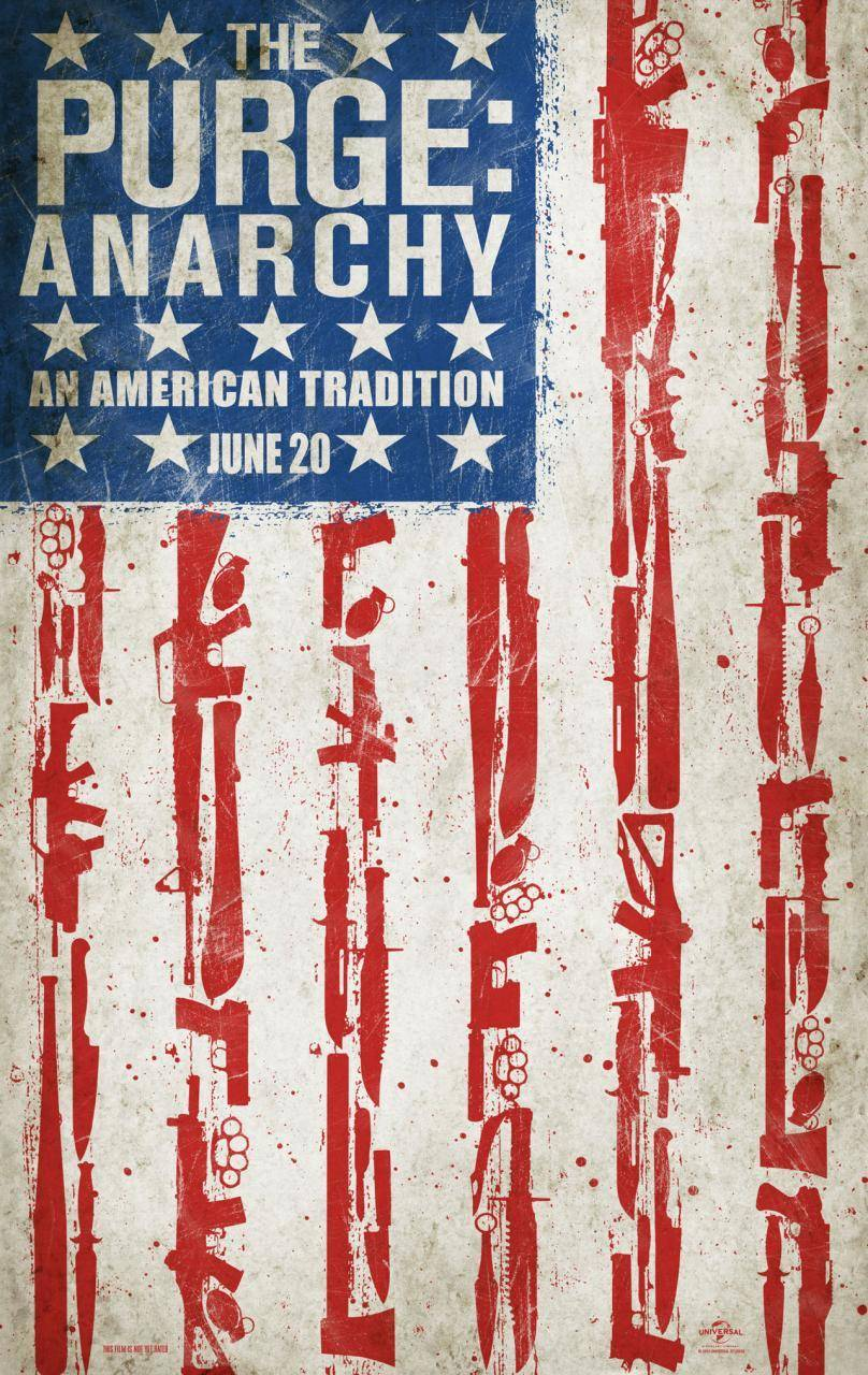 The Purge: Anarchy (2014) Full Movie Poster