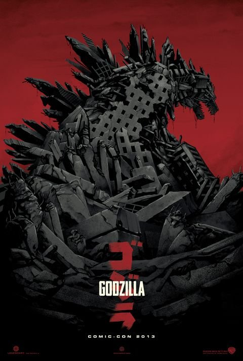 Godzilla (2014) Full Movie Poster