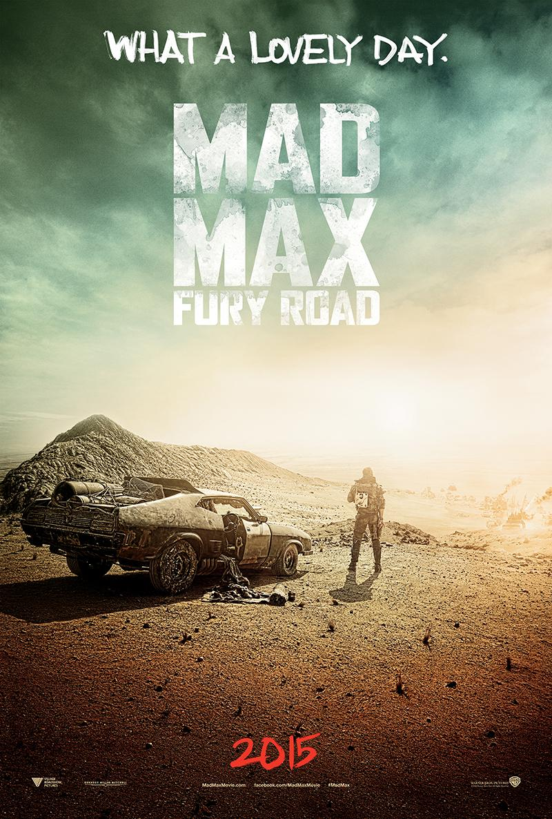 Mad Max: Fury Road (2015) Full Movie Poster