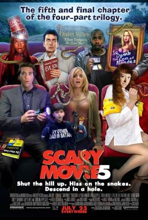 Scary Movie 5 (2013) Full Movie Poster