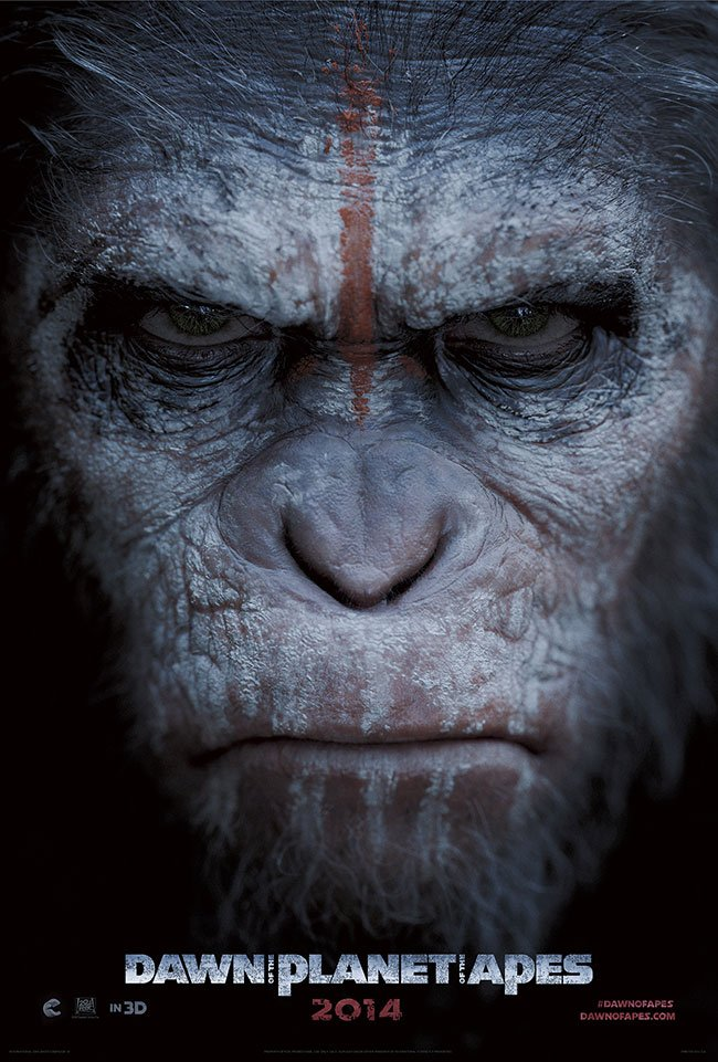 Dawn of the Planet of the Apes (2014) Full Movie Poster