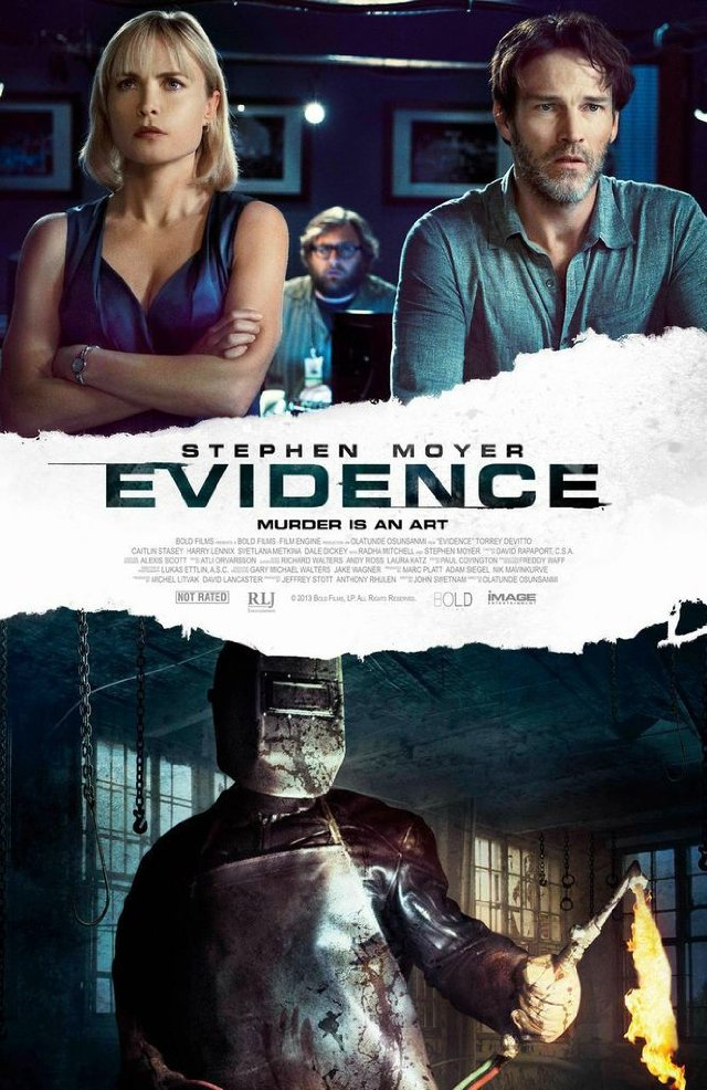 Evidence (2013) Full Movie Poster