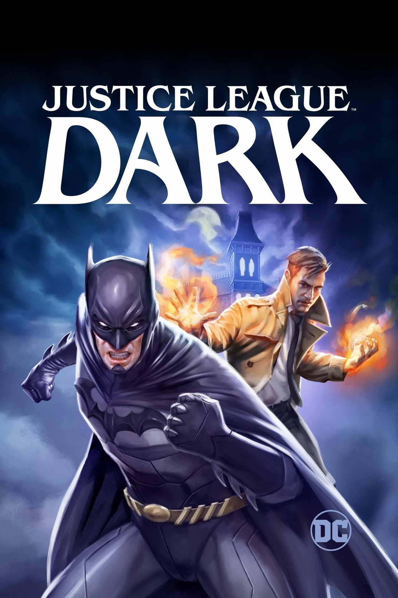 Justice league dark release date