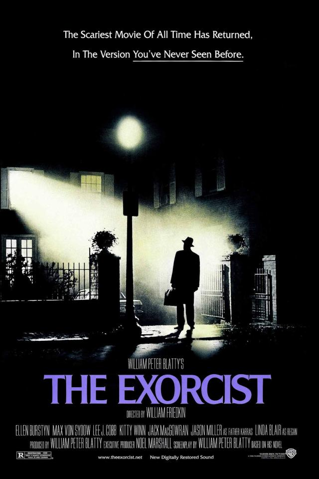 The Exorcist Cover Poster Art