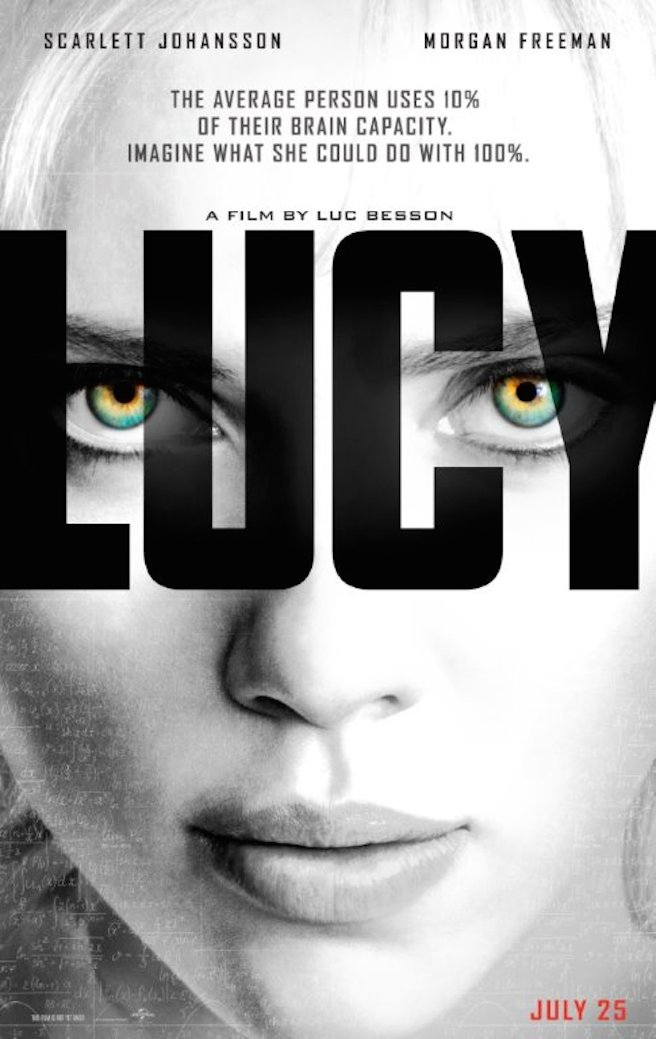 Lucy (2014) Full Movie Poster
