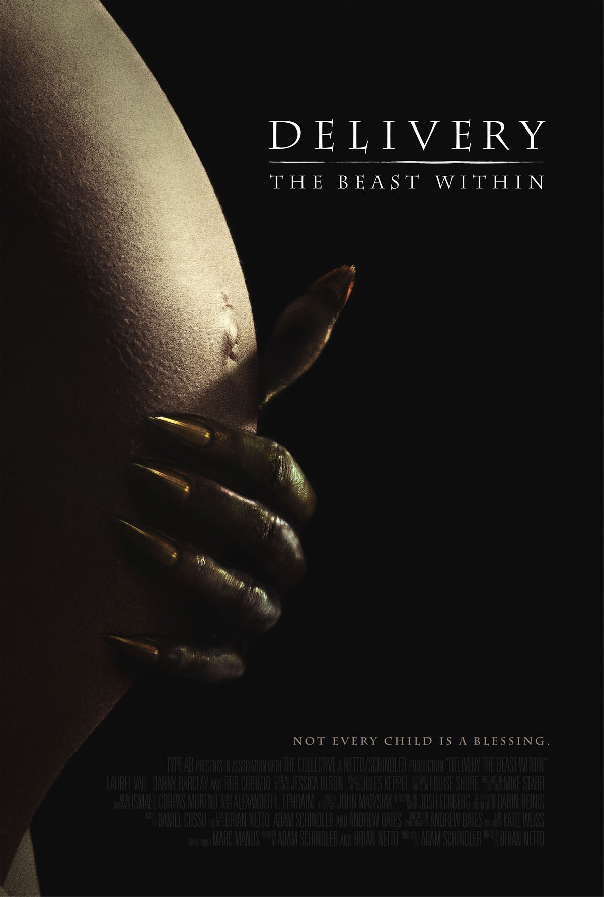 Delivery: The Beast Within (2013) Full Movie Poster