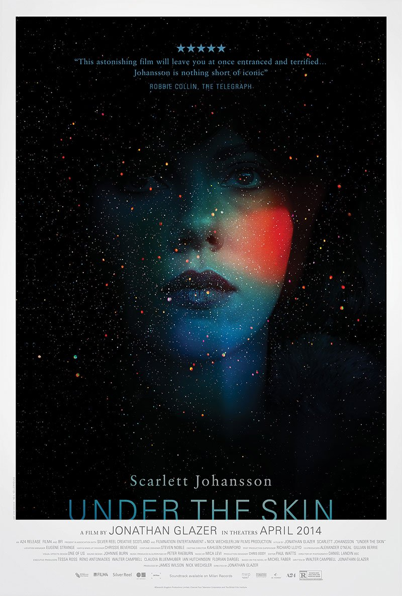 Under the Skin (2013) Full Movie Poster