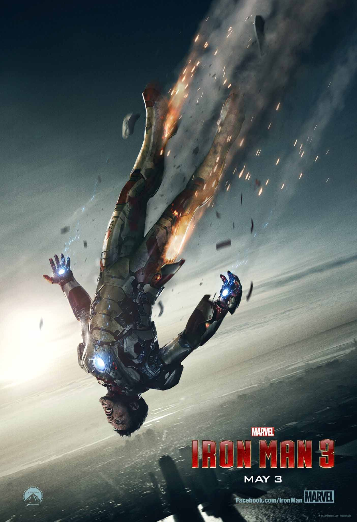 Iron Man 3 (2013) Full Movie Poster