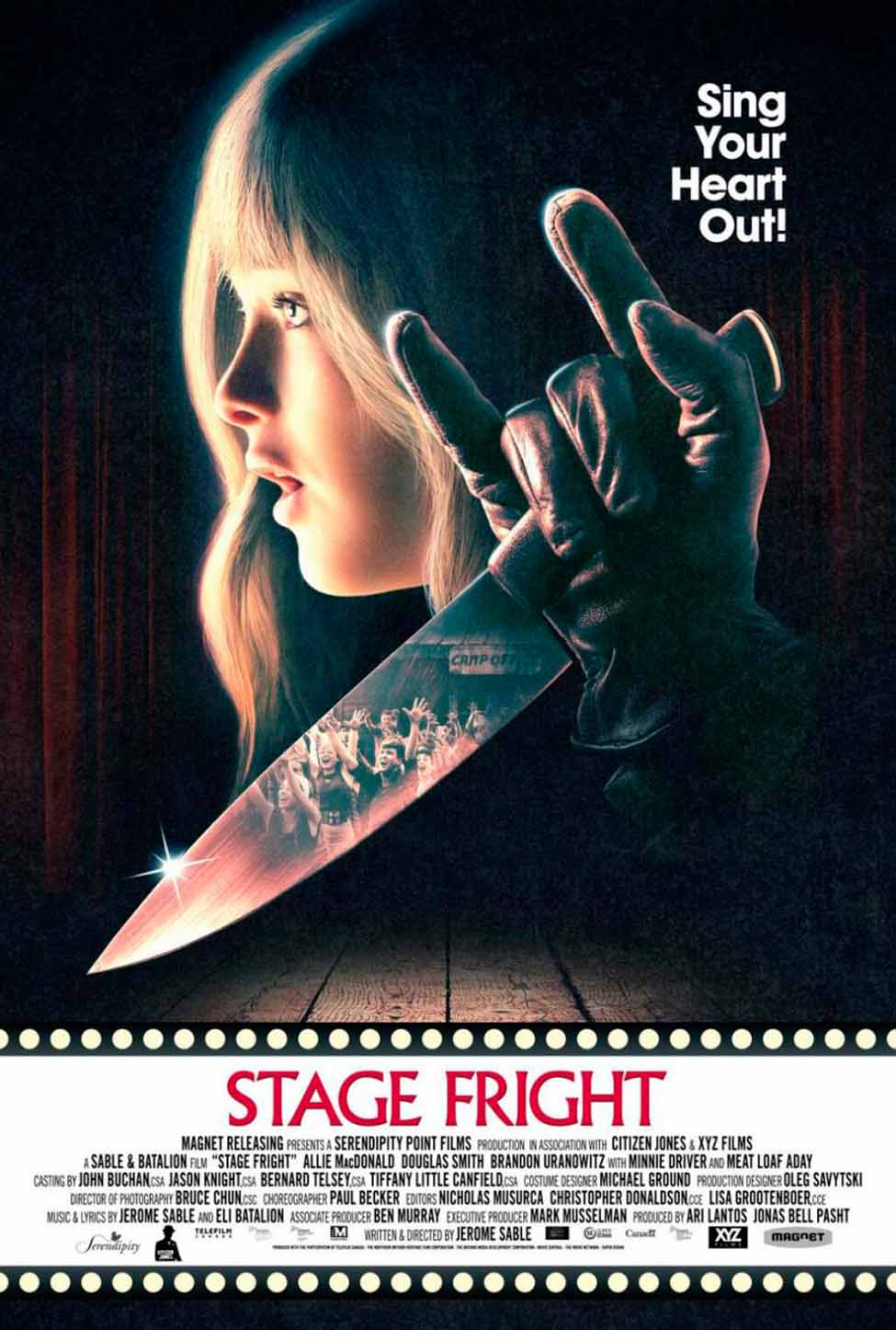 Stage Fright (2014) Full Movie Poster