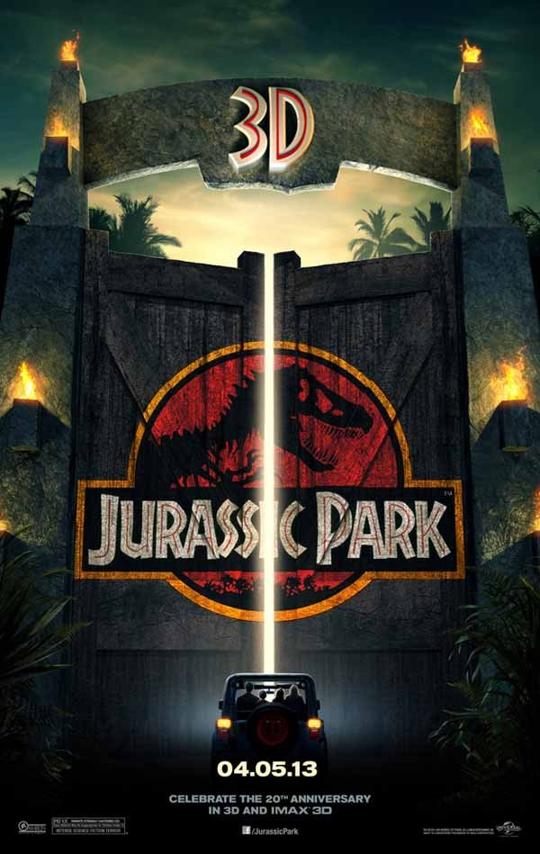 Jurassic Park 3D (2013) (1993) Full Movie Poster