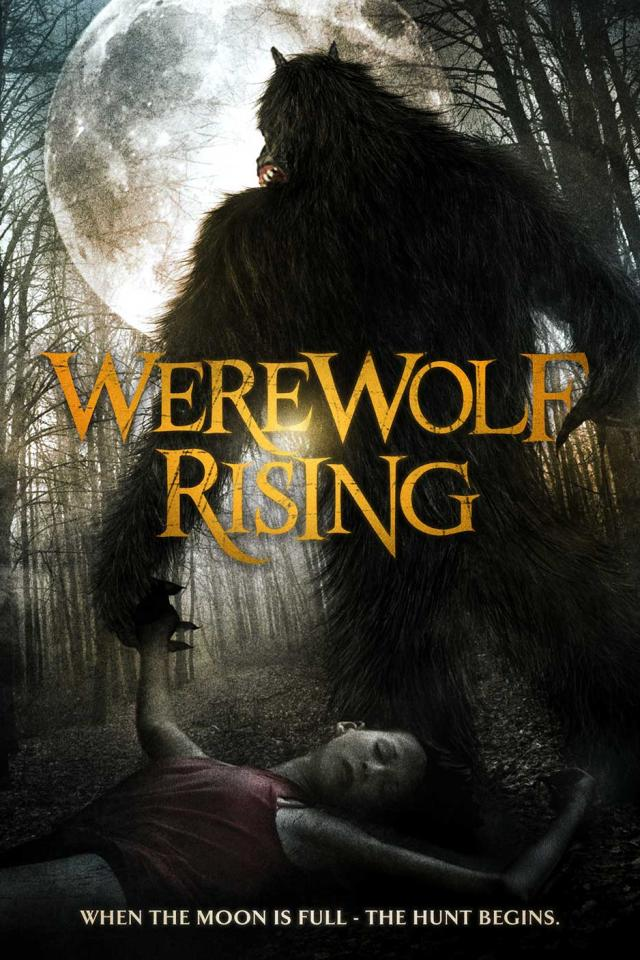 Werewolf Rising Cover Poster Art