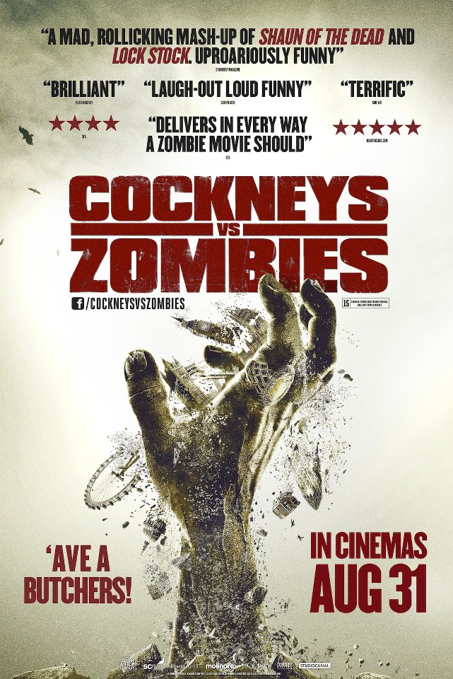 Cockneys vs Zombies (2012) Full Movie Poster