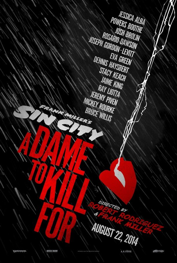 Sin City: A Dame To Kill For (2014) Full Movie Poster
