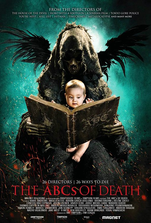 ABCs of Death (2012) Full Movie Poster