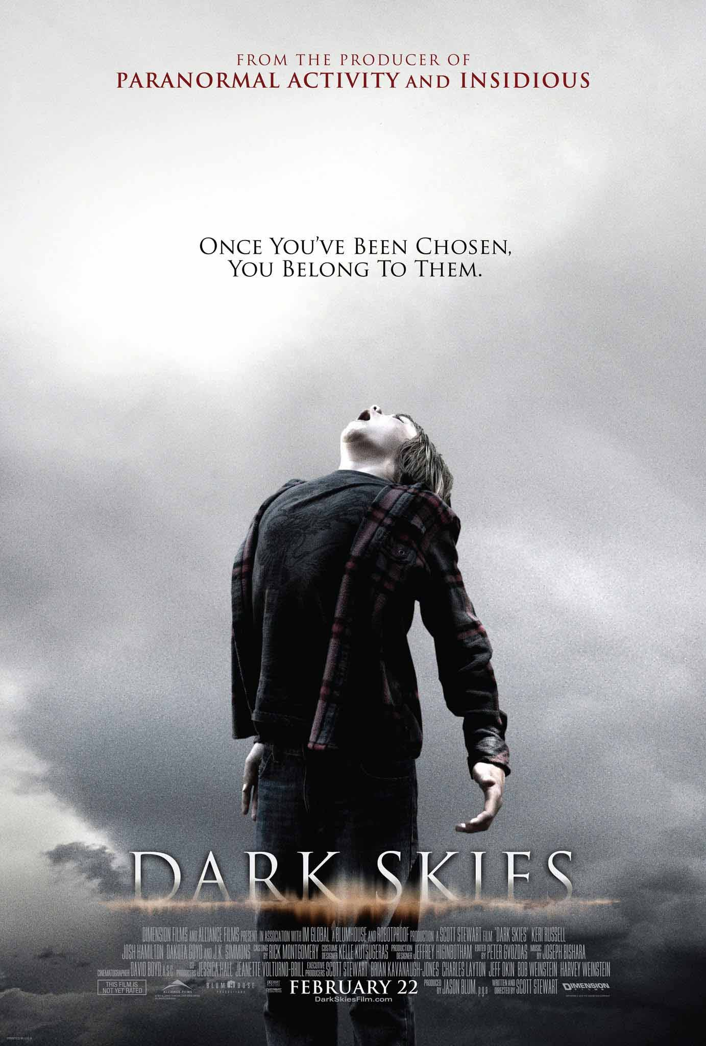 Dark Skies (2013) Full Movie Poster