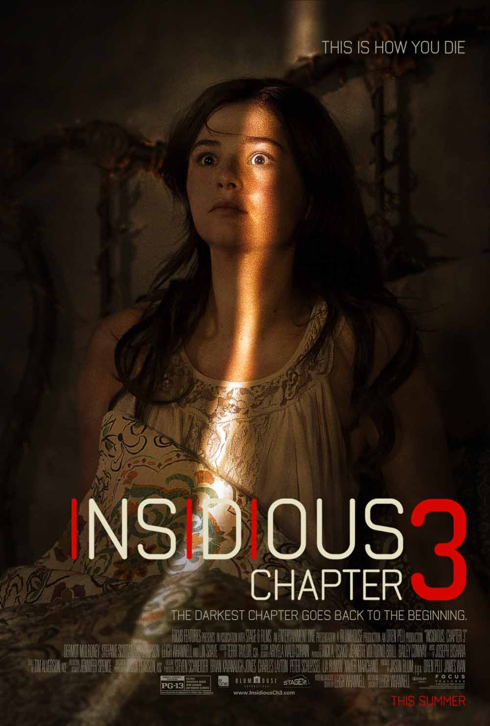 Insidious: Chapter 3 (2015) Full Movie Poster