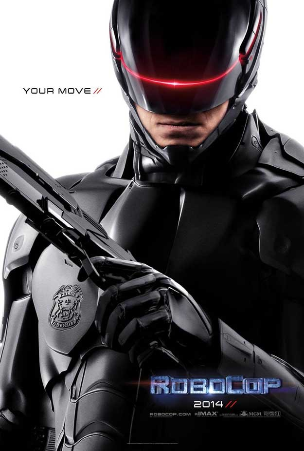 Robocop (2014) Full Movie Poster