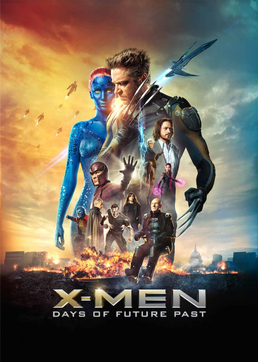 X-Men: Days of Future Past (2014) Full Movie Poster