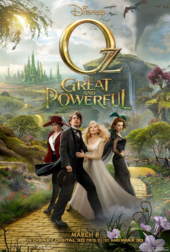 Oz the Great and Powerful (2013) Full Movie Poster