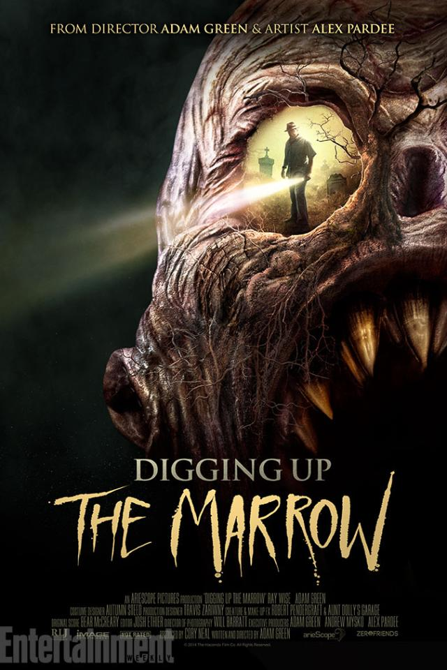 Digging Up the Marrow Cover Poster Art