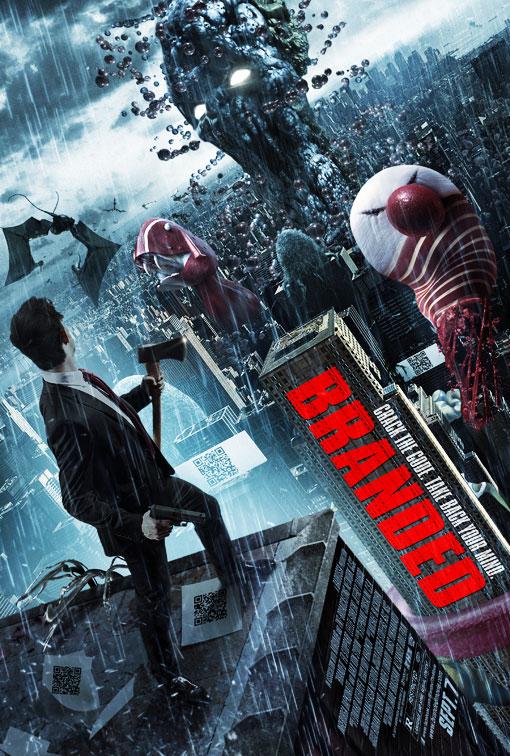 Branded (2012) Full Movie Poster