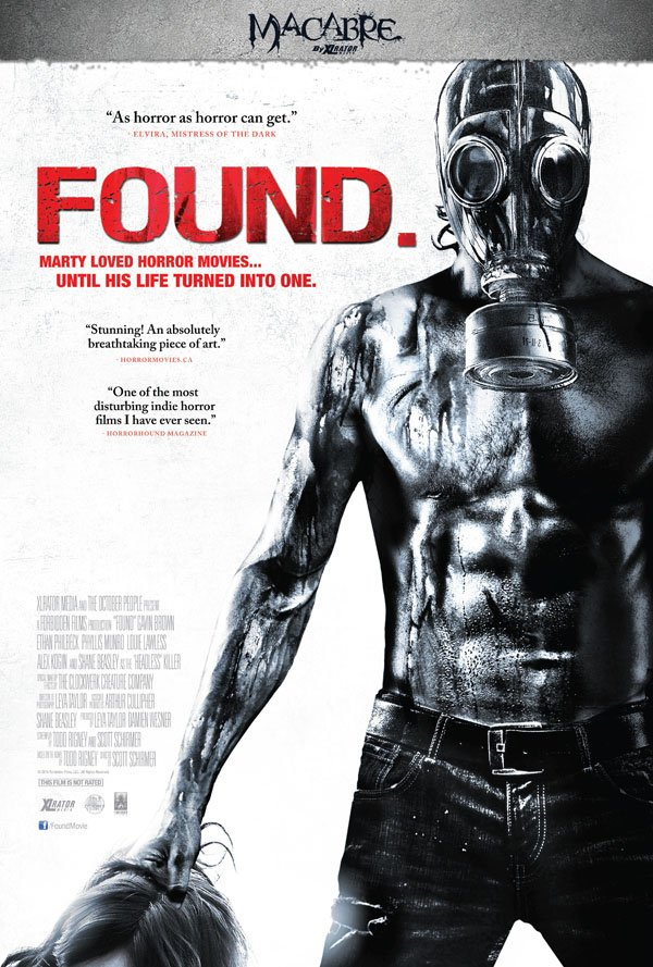 Found (2012) Full Movie Poster