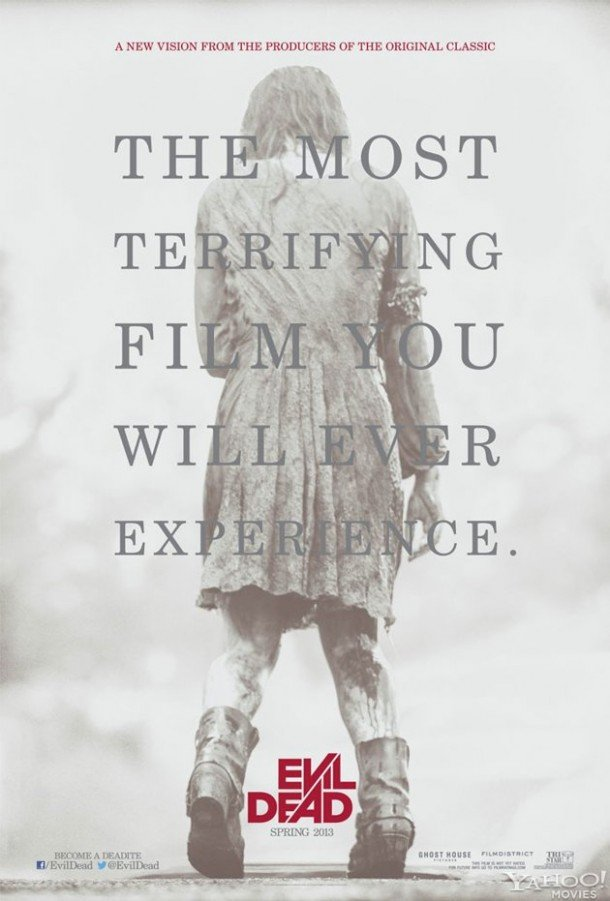 Evil Dead Remake (2013) Full Movie Poster