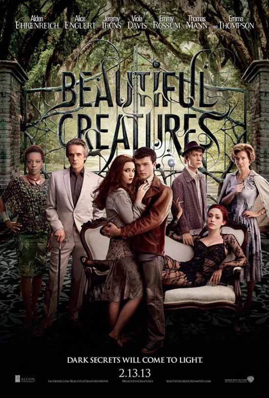 Beautiful Creatures (2013) Full Movie Poster
