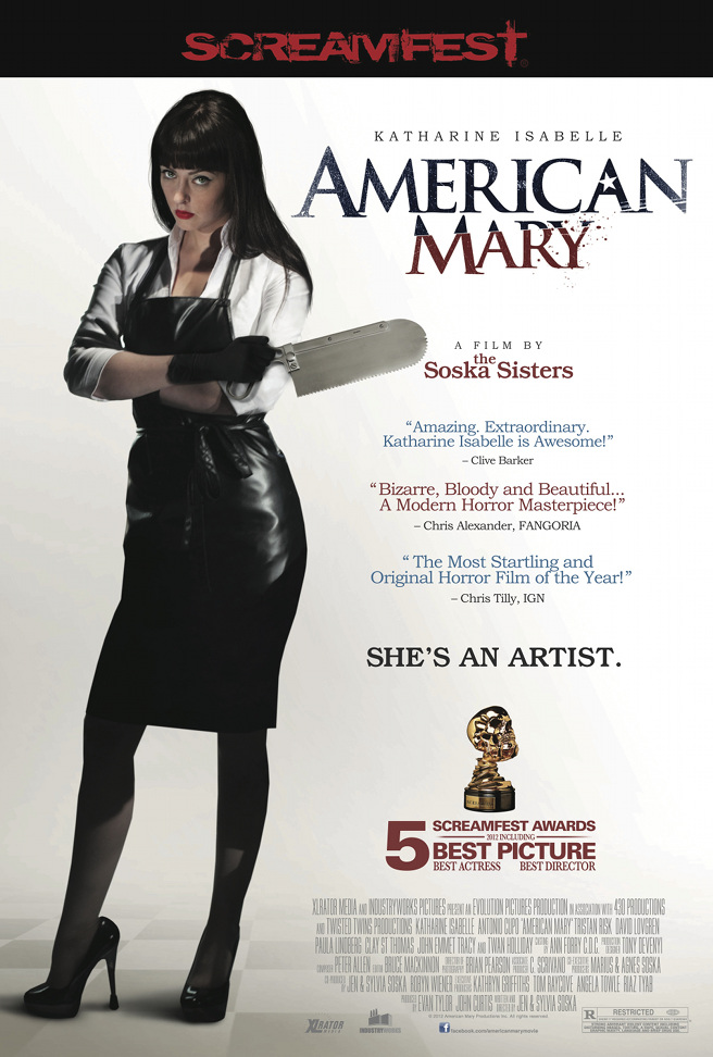 American Mary (2012) Full Movie Poster
