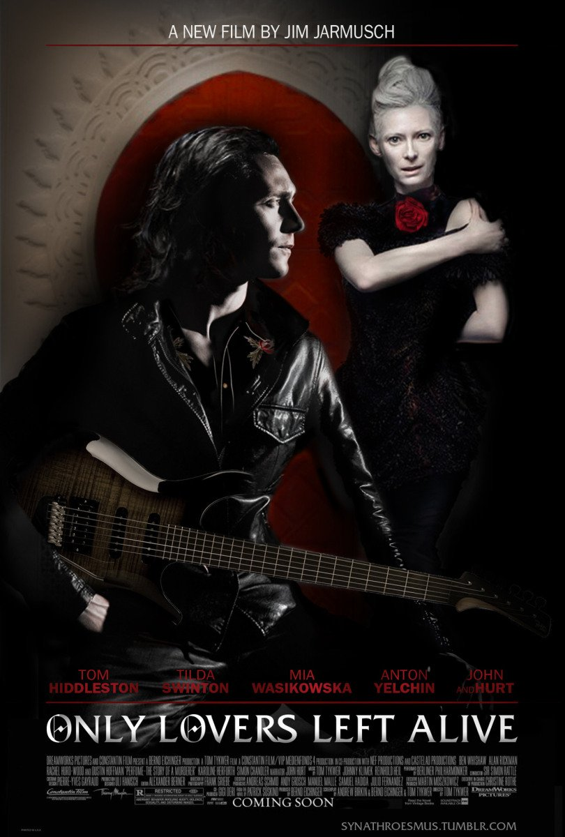 Only Lovers Left Alive (2013) Full Movie Poster