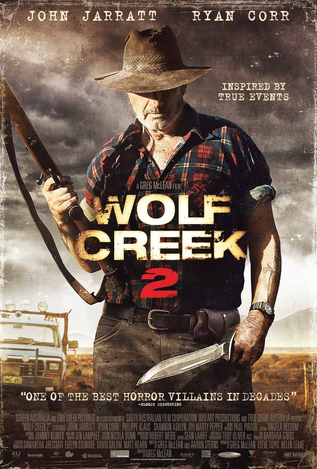 Wolf Creek 2 (2013) Full Movie Poster