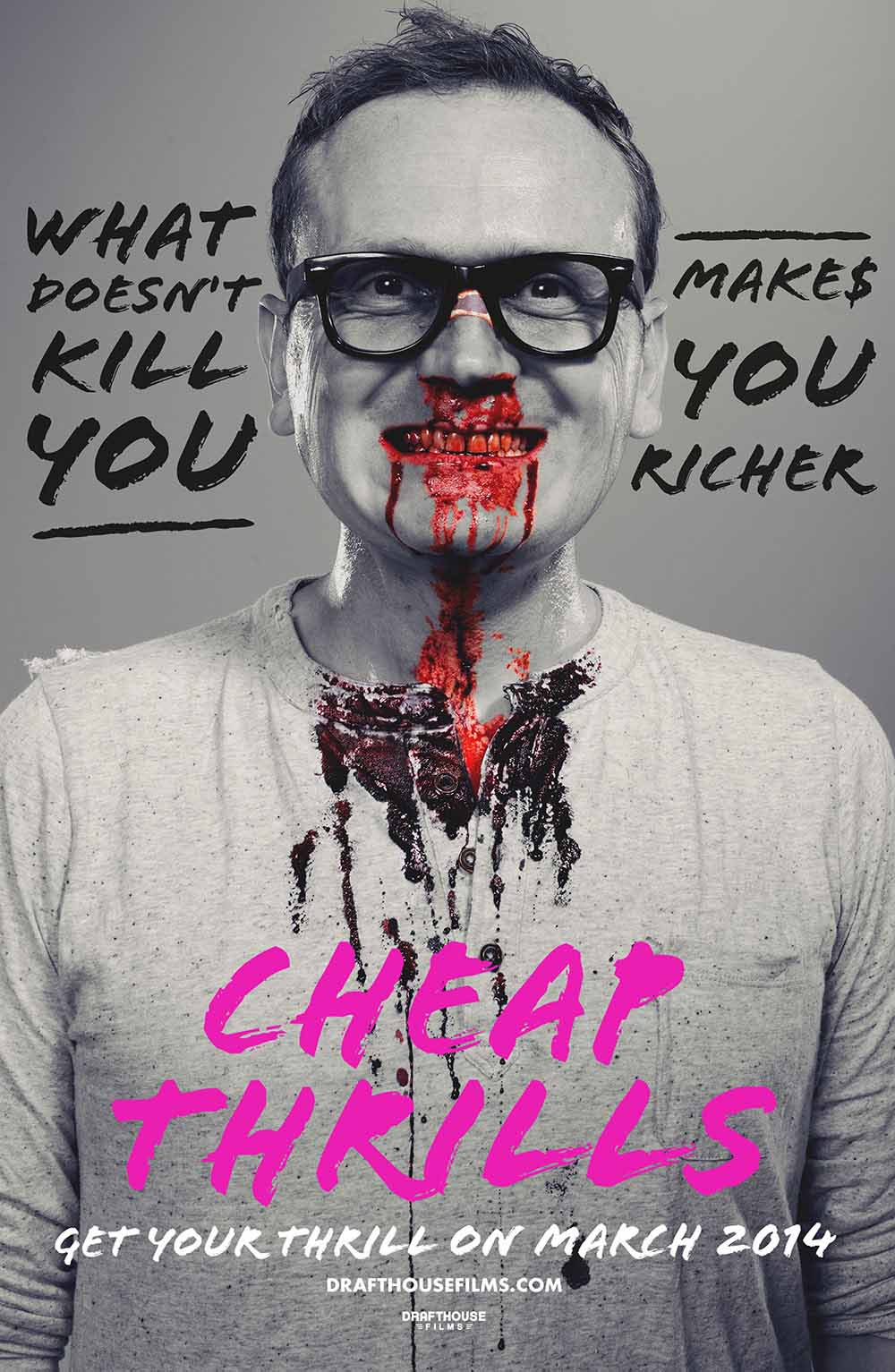 Cheap Thrills (2013) Full Movie Poster