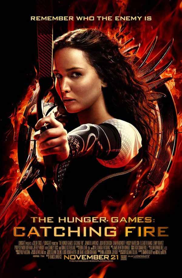 The Hunger Games: Catching Fire (2013) Full Movie Poster