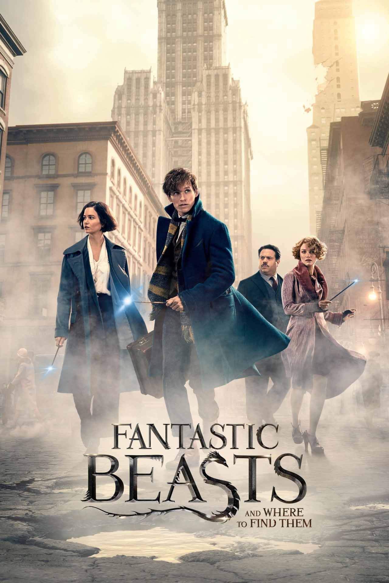 Image result for fantastic beasts and where to find them movie poster