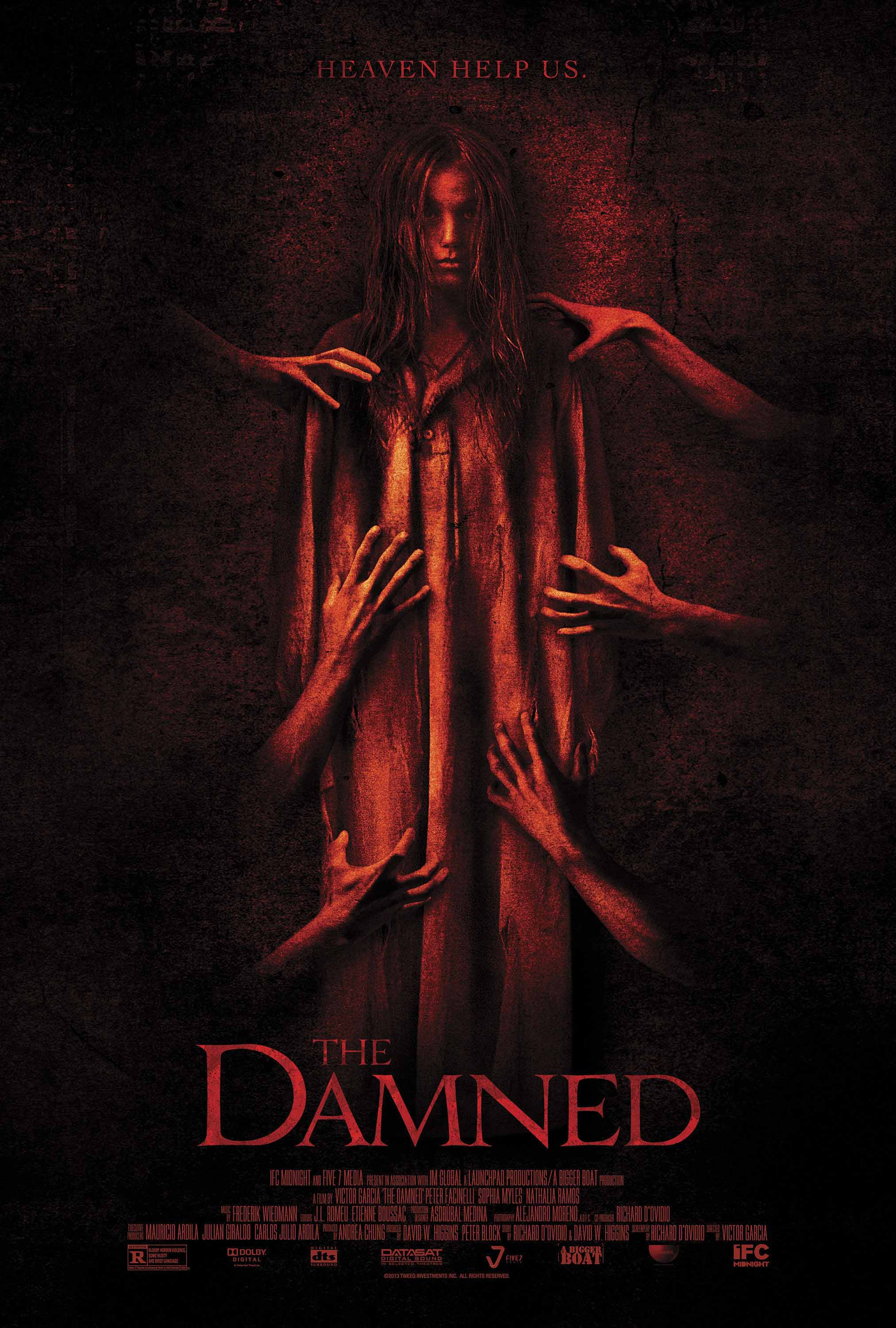 The Damned (2013) Full Movie Poster