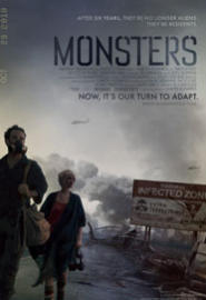 Monsters (2010) (2010) Full Movie Poster