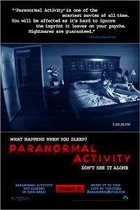 Paranormal Activity (2007) Full Movie Poster