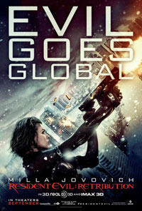 Resident Evil: Retribution (2012) Full Movie Poster
