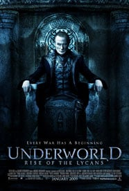 Underworld : The Rise of the Lycans (2009) Full Movie Poster
