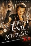 Resident Evil: Afterlife Movie Poster / Movie Info page