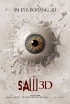 Saw 3D: The Traps Come Alive Movie Poster / Movie Info page