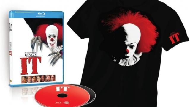 Stephen Kings IT Blu-ray Announced / Confirmed!
