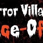 Horror Villains Infographic Logo