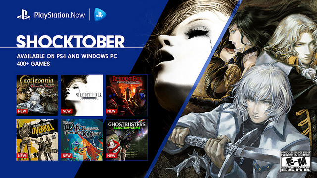 All New Games On Ps3 : Sony playstation now shocktober halloween games