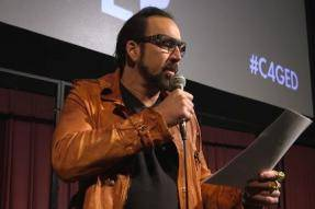 Nicolas Cage Live Reading of Edgar Allan Poe's THE TELL-TALE HEART [Video]