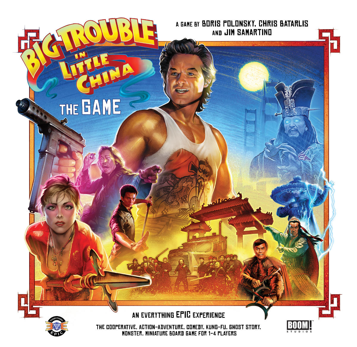 Big Trouble in Little China the game by Everything Epic ...