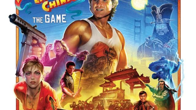 Announcing BIG TROUBLE IN LITTLE CHINA Board Game Featuring Lo Pans Lair