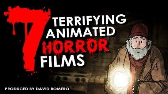 7 Terrifying Animated Horror Films
