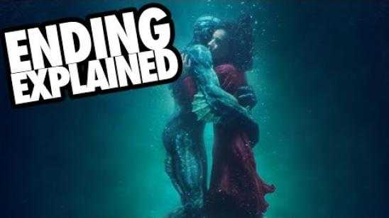 THE SHAPE OF WATER (2017) Ending Explained Video