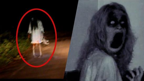 The 14 Scariest Ghosts YouTubers Caught on Tape?!